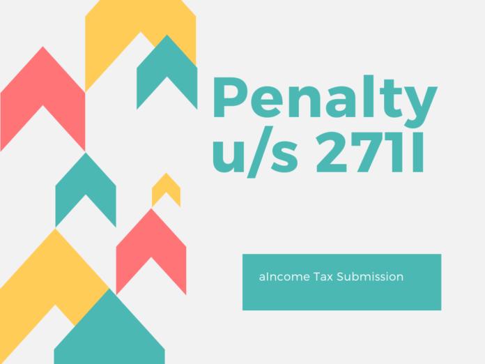Penalty u/s 271I