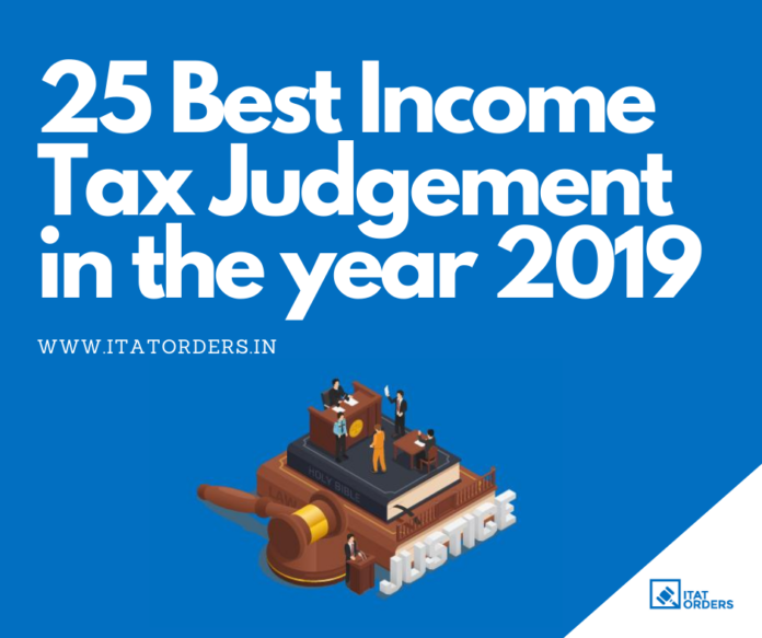 Latest Income Tax Judgement