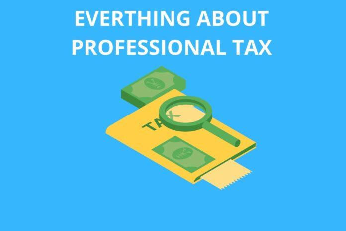 Professional Tax and slabs in india